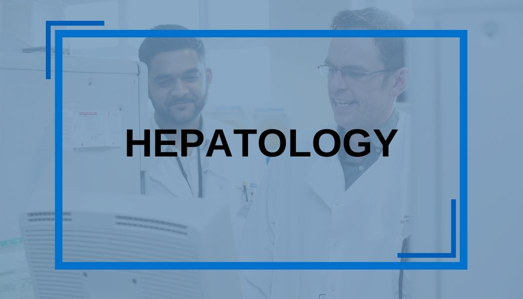 Hepatology button