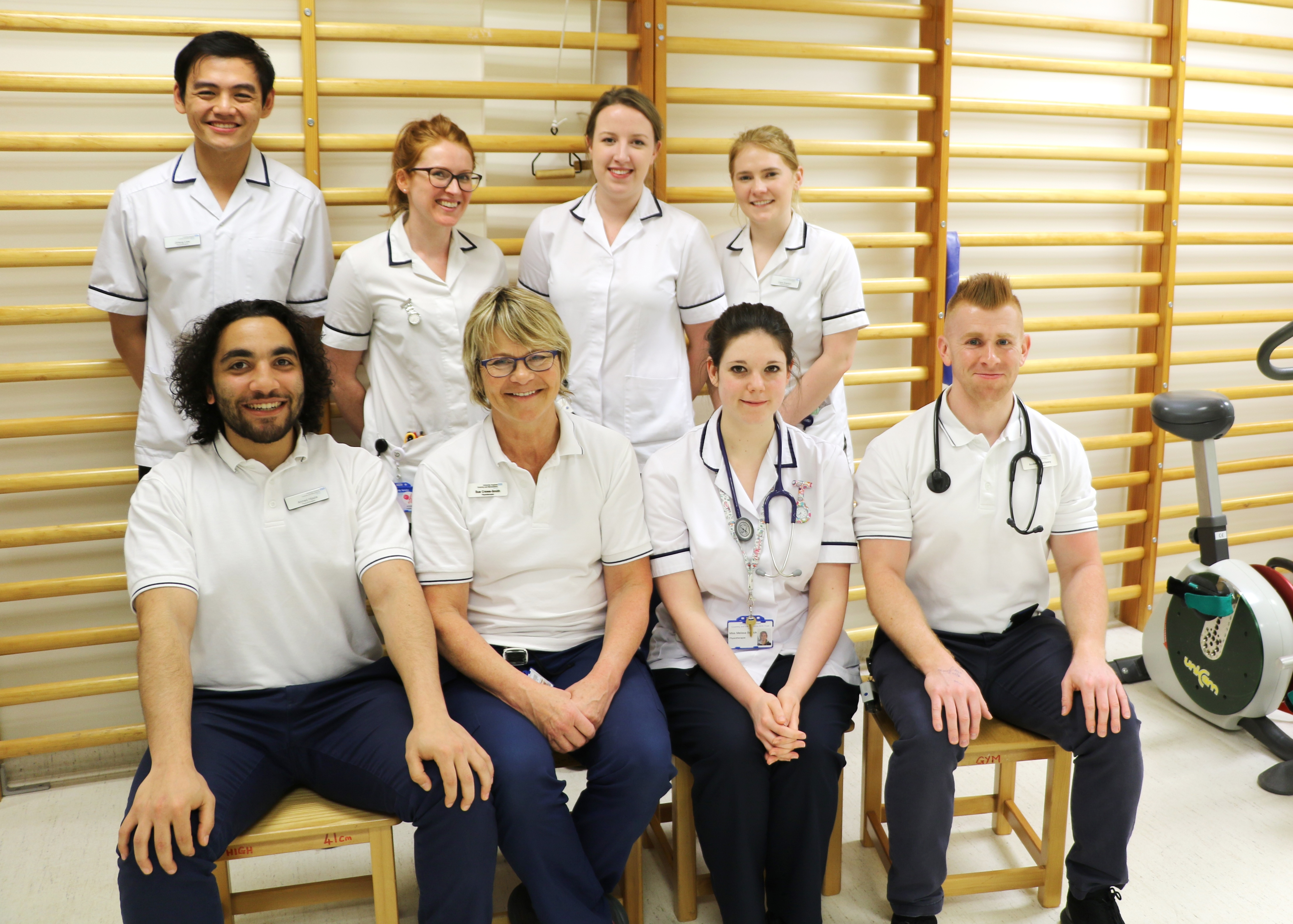 Physiotherapists volunteering for London Marathon