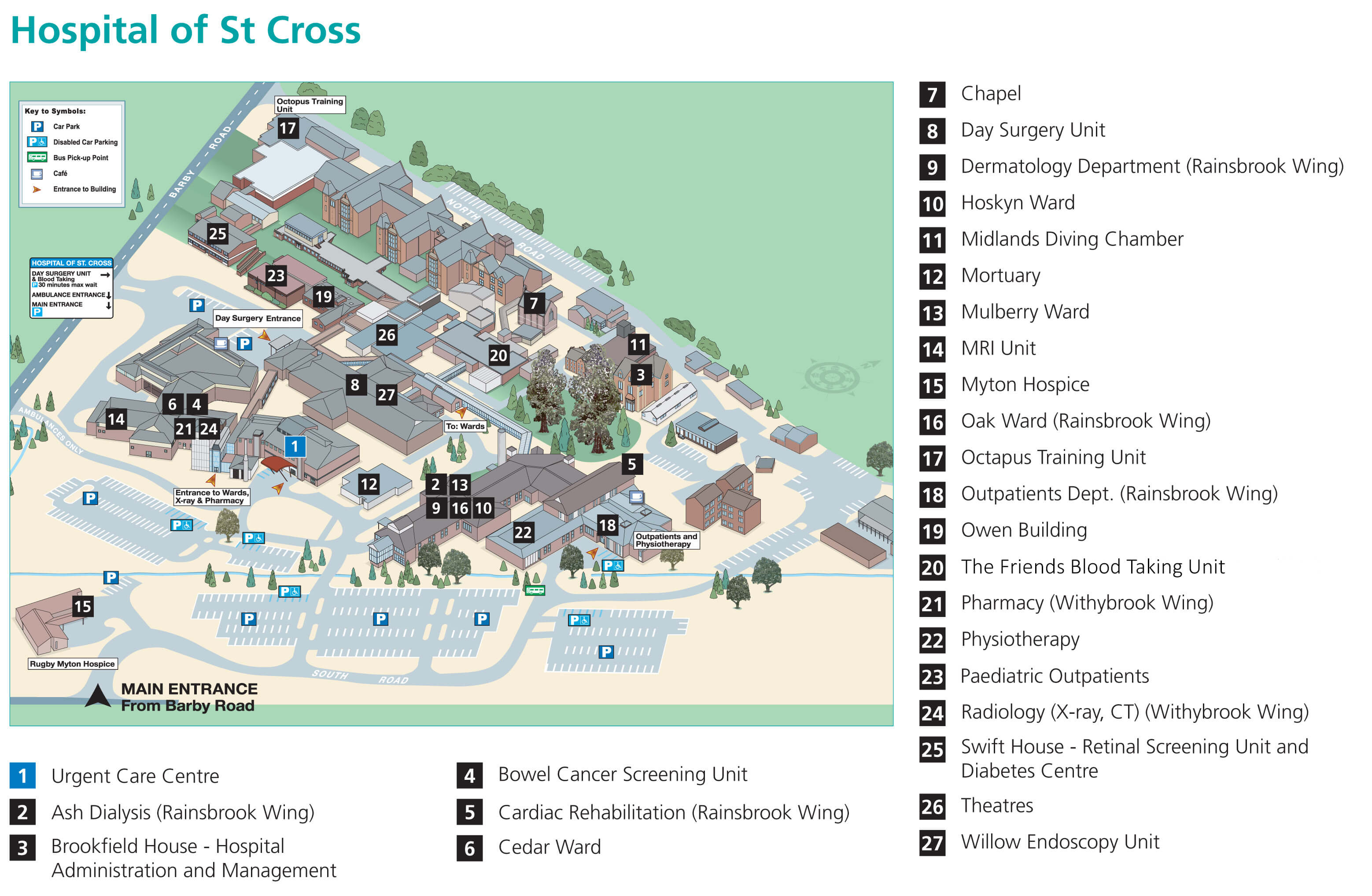 Ahead Of Your Visit You May Also Find It Useful To Look At And Print Out This Map