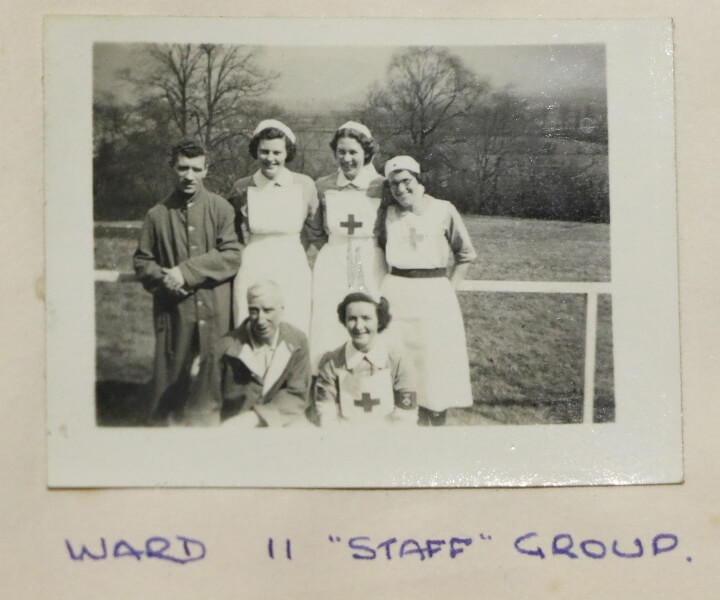 Ward 11 photo (Nurse Ella, back row, second right)